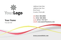 Bathroom Fitters Business Card  by