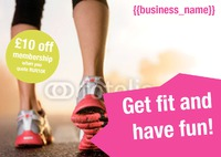Gym A5 Leaflets by