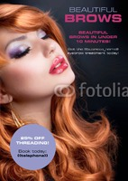 Beauty Salon A5 Leaflets by Rebecca Doherty
