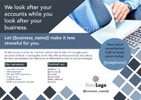 Accountants A5 Leaflets by Rebecca Doherty 