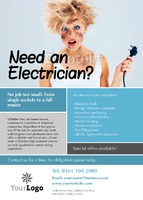 Electrical A6 Leaflets by