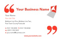 Book Keeping Business Card  by Templatecloud