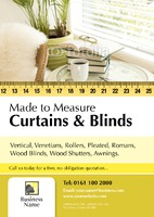 Blinds A4 Leaflets by