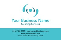 Cleaning Business Card  by