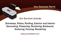 Home Maintenance Business Card  by Rebecca Doherty