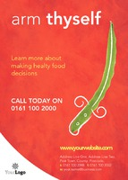 Nutritionists A6 Flyers by Templatecloud