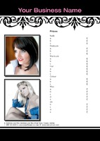 Hair A3 Leaflets by