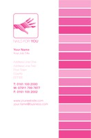 Nail Technician Business Card  by