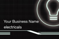Electrician Business Card  by