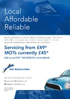 Garage Services A5 Leaflets by