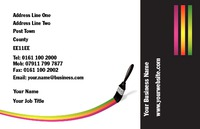 Painters and Decorators Business Card  by