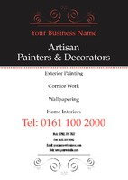 Painters and Decorators A5 Leaflets by