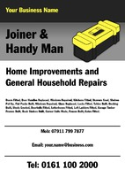 Handy Man A5 Leaflets by