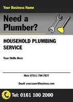 Plumbers A5 Leaflets by  