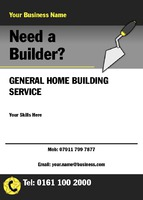 Builders A6 Leaflets by