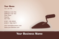 Plasterer Business Card  by