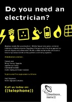 Electrical A4 Leaflets by