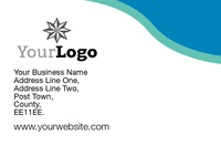 Business Card Blue Lagoon Collection by 