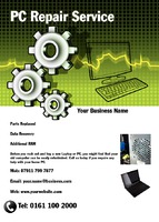 PC Repairs A6 Leaflets by