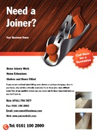 Joiners A5 Leaflets by  
