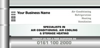 Air Conditioning 1/3rd A4 Leaflets by
