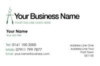 Builder Contractors Business Card  by